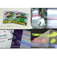 Quality Cheapest Cold Peel Matte Heat Transfer Film For Screen/Offset Printing Heat Transfers And Heat Transfer Labels/Stickers for sale