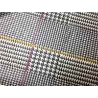 Quality Red / Yellow Lines Printed Printed Leather 0.15mm - 0.20mm Abrasion Resistant for sale