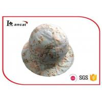 Quality 100% Cotton Flower Printed Bucket Hat  With Cotton Flower Printed Lining for sale
