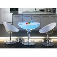 Quality Acrylic Led Cocktail Table Lights , Color changing illuminated coffee tables for sale