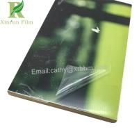 Buy 0.03-0.2mm Clear Self Adhesive High Gloss UV Sheet Protective Film at wholesale prices