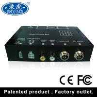 Quality Realtime Video Audio Input 4 Channel Car DVR Recorder With Remote Controller for sale