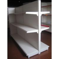 Quality High Grade Steel Supermarket Display Commercial Retail Shelving Goods Backplane Gondola Shelf for sale
