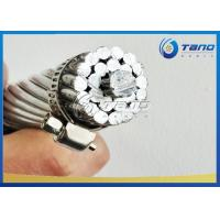 Quality Tano Cable Rabbit ACSR Conductor , ACSR Wolf Conductor 33kV Without Jacket for sale