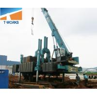 Quality T-WORKS 120T Hydraulic Piling Machine for Concrete Spun and Square Pile Without Noise And Vibration for sale
