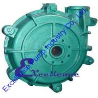 Quality High Head Metal Lined Industrial Centrifugal Slurry Pump For Gold Mine for sale