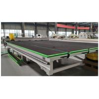 Quality Full Automatic CNC Float Glass Shaped Glass Cutting Line for sale