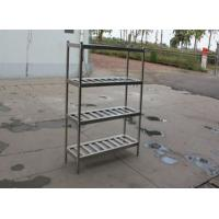 Quality Disassembly Supermarket Stainless Steel Display Racks Kitchen Pot Shelf for sale