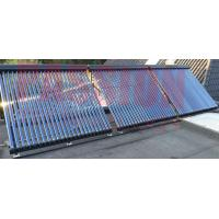 Quality High Efficiency Aluminum Alloy Silver Black Heat Pipe Solar Collectors 10 to 30 Tubes for sale