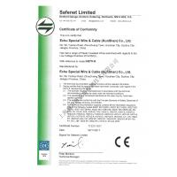 Echu Special Wire Cable Kunshan Co Ltd Quality Infoqc Electrical Flat Bvvb Certifications