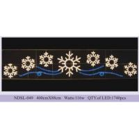 Quality Outdoor commercial public holiday led Christmas street decoration motif light for sale