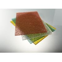 Quality UV Protection Polycarbonate Solid Sheet High Impact Strength 1.2g/Cm³ for sale