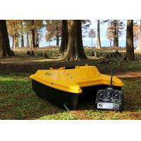 Quality Yellow Carp Fishing Bait Boats , Catamaran bait boat DEVC-303 ABS Engineering plastic for sale