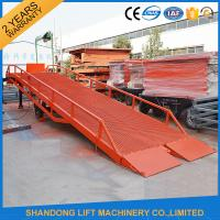Quality Heavy Duty Container Loading Ramps / Unloading Ramps with 6T 10T 15T Loading Capacity for sale