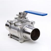 Quality 2 Way Welding Stainless Steel Threaded Ball Valve For Gas And Water for sale