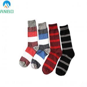 China custom knee high cotton dress socks for men on sale