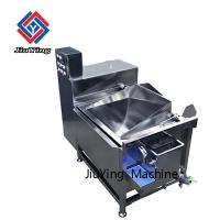 China 3.7kw SS Spinach Vegetable Fruit Washing Machine One Year Warranty on sale