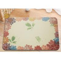 Quality The Circular And Deodorant Natural Diatomaceous Earth Bath Mat for sale