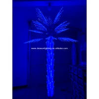 Quality led color changing palm tree light for sale