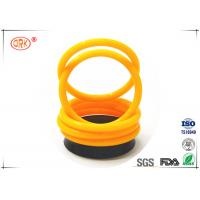 Quality FKM 70 Fuel Resistant O Rings High Fluorine Grades For Low Compression Set for sale