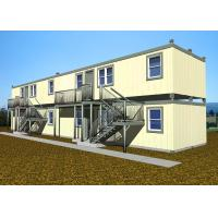Quality Double Deck Villa Large Container Homes Easy Installation With All Facilities for sale