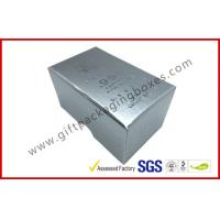 Quality Free sample Silver Hot Stamping promotion Gift Boxes for memorabilia for sale