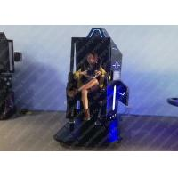 Buy 1 Player 9D VR Games 360 Degree Rotation Roller Coaster Simulator Patent Design at wholesale prices