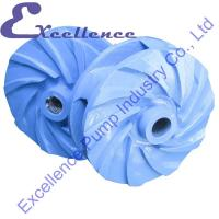 Buy cheap Professional Blue Abrasion Resistant High-Abriasive Slurry Pump Impeller from wholesalers