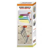 Quality Bathroom Rack Plastic Clothes Hangers Easy Installation With Strong Suction Cup for sale