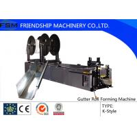 Quality 5,6,7 K Type Gutter Roll Forming Machinery Use Copper Aluminium steel for sale