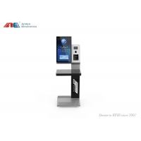 China RFID Library Automation Management Books Check In / Out Self Service Kiosk Machine on sale
