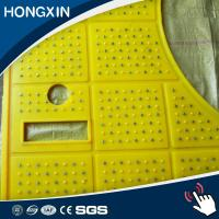 Quality 30mm Thickness Rotery Table Drill Rig Floor Rubber Safety Mat for sale