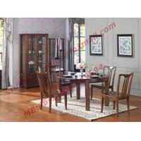 Quality Can Folding and Opening Dining table in Solid Wooden Dining Room Set for sale