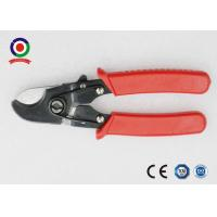 China Heavy Duty Electrical Wire Cable Cutter Chrome Vanadium Safety Red Color on sale