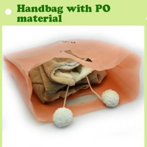 Quality PO hand shopping bag/handbag packaging bag in 2015/reusable handbag for shopping made in China for sale