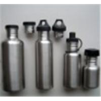 Quality Sports aluminum water bottle (750ML carabiner) for sale