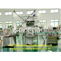 Servo / Electric Driven 3 - In - 1 Linear Filling Machine Easy To Operate
