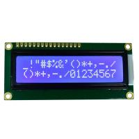 China Character Dot Matrix LCD Module SPLC780D Controller BLUE Film Positive Display on sale