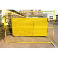 China Industrial 6ft X 8ft Temporary Fence Powder Coated Finish Panels Strong Brace on sale