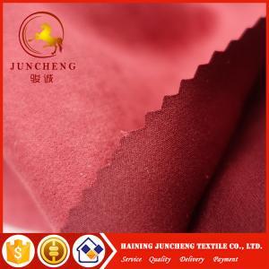 China 145gsm Microfiber suede fabric garment fabric wholesale dress fabric on sale