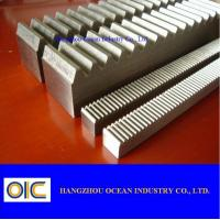 Quality Transmission Spare Parts CNC Machined Racks for sale