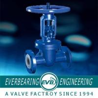 China GB, T12234 Fluorine Lined Gate Valve on sale
