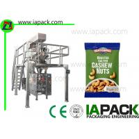 Quality Automatic Form Fill Seal Machine with Multi Head Weigher for Cashew Nuts Packing Snacks Packing Machine for sale