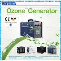 Quality Portable high concentration ozone generator 3g / water treatment ozone maker machine for sale