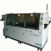 Quality Touch Screen Control Double Wave Soldering Equipment For 0 - 350mm PCB for sale