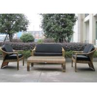 Quality European Style Hand-Woven Outdoor Rattan Furniture Sofa Chair for sale