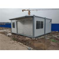 Quality Fast Installation Prefabricated Container House Rolling Gate Convenient for sale