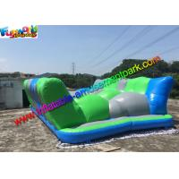 China Vinyl Inflatable Obstacle Course Jump Around / Jumping Obstacle Track Inflatables on sale
