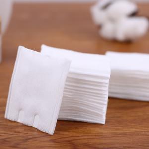 Quality Square 5*6cm 180pcs Makeup Cotton Pads For Disposable Cosmetic for sale
