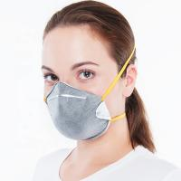 Quality Modern Active Carbon Face Mask , Fiberglass Free Face Mask High Filter Efficiency for sale